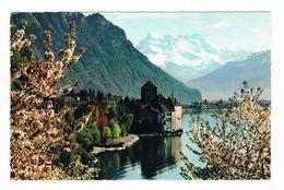 ZWITSERLAND  LAC LEMAN CHATEAU DE CHILLON - GE Genève