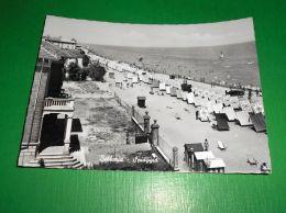 Cartolina Bellaria - Spiaggia 1955 Ca - Rimini