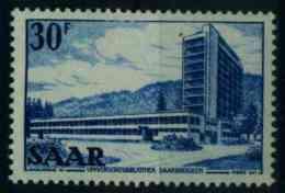 SAARLAND 1952 Nr 332 Postfrisch S3EC2AA - Unused Stamps