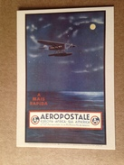 Carte Postale Prétimbrée Aéropostale - 1919-1938: Entre Guerres