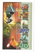 1998 Chad Tchad Minerals Geology 2 Complete Sheets Of 6 MNH - Minerals