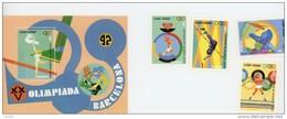 Cap Vert-Cabo Verde-1992-JO Barcelone-YT 615/18+B19***MNH - Ete 1992: Barcelone