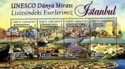 Turkey - 2015 - UNESCO World Heritage - Istanbul - Mint Souvenir Sheet - Nuevos