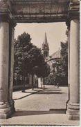 CPSM.  SOISSONS.  Perspective Sur L'église St-Waast.    1965.      () - Soissons