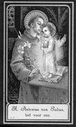 76x  Image Pieuse Chromos Allemagne Souvenir Décés En 1915 Maria Isabella Duval - Imágenes Religiosas