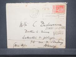 FRANCE - Type Paix Avec Bande Publicitaire Sur Enveloppe En 1936- L 8997 - Advertising