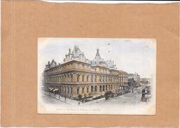 LYON - 69 - CPA COLORISEE DOS SIMPLE - Le Palais De La Bourse  - ORL - - Lyon