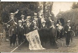 BENON. CARTE PHOTO . FETE DES CONSCRITS CLASSE1914. CONSEIL DE REVISION - France