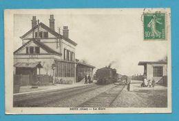 CPA Chemin De Fer Train En Gare De BETZ 60 - Frankreich