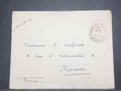 GRANDE BRETAGNE - Enveloppe En FM Pour La France En 1916 Avec Cachet De Censure - L 9003 - Marcofilie