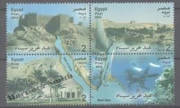 Egypt 2013 Yvert 2129-32, Sinai - MNH - Égypte