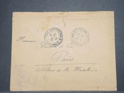 GRANDE BRETAGNE - Enveloppe En FM Pour La France En 1919 Avec Cachet De Censure - L 9004 - Marcofilie