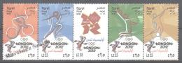 Egypt 2012 Yvert 2111-15, Summer Olympic Games At London - MNH - Egypt