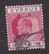 Cyprus, Scott #64, Used, King George V, Issued 1912 - Chypre (...-1960)