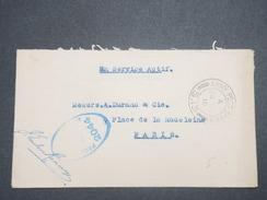 GRANDE BRETAGNE - Enveloppe En FM Pour La France En 1916 Avec Cachet De Censure - L 9005 - Marcofilie