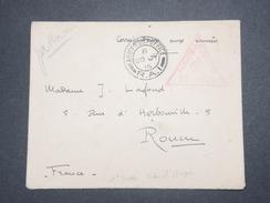 GRANDE BRETAGNE - Enveloppe En FM Pour La France En 1915 Avec Cachet De Censure - L 9006 - Marcofilie