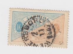 SUEDE SWERIGE - Yv N°11 B 1K - WENE RSBORG 1887 / R259 - Suède