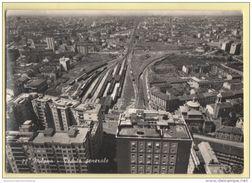 MILANO Ferrovia Treni Cp 1955 - Milano