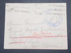 FRANCE - Enveloppe En FM De Montauban Pour Nantes En 1940 - L 9015 - Postmark Collection (Covers)