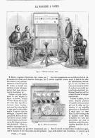 LA MACHINE à VOTER    1875 - Sciences & Technique