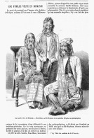 ( L'HOMME CHIEN )  UNE FAMILLE VELUE EN BIRMANIE  1875 - Santé