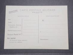 FRANCE  - Carte De Franchise Militaire Non Voyagé En 1939 - L 9023 - Cartes De Franchise Militaire