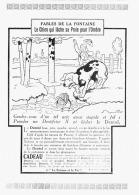 "PUB ""DENTOL ""  FABLES DE LA FONTAINE Par BENJAMIN RABIER  1924 (2) - Advertising"
