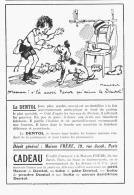 """PUB """"DENTOL """"   Par POULBOT 1924 (2) - Advertising"""