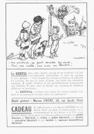 """PUB """"DENTOL """"   Par POULBOT 1924 (4) - Advertising"""