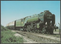 London And North Eastern Railway Peppercorn A2/3 Class 4-6-2 No 532 'Blue Peter' - Loco 100 Postcard - Trains