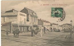 Béziers: Avenue Du Chemin De Fer - Beziers