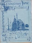 75---PARIS--exposition Universelle 1900--( Carnet Dépliant  12 Vues Chromolithographiques )--voir 2 Scans - Reiseprospekte