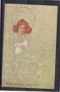 Relief - Gaufrée - Embossed - Prage - Seules Les étoiles Sont En Relief - TBE Précurseur - Style Kirchner - Illustratori & Fotografie