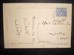 Vatican Carte De1931 Pour Lutry - Lettres & Documents