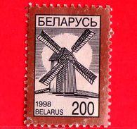 BIELORUSSIA - Usato - 1998 - Mulini A Vento - Wind Mill - 200 - Bielorussia