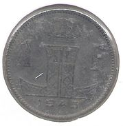LEOPOLD III * 1 Frank 1943 Frans/vlaams * Fraai * Nr 9401 - 1934-1945: Leopold III