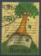 SI 2000-333 TREES, SLOVENIA, 1v, Used - Slovénie
