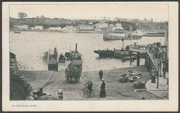 The Ferry Bridge, Saltash, Cornwall, C.1905 - Postcard - England