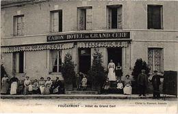 FOURCARMONT (76) L'Hôtel Du Grand Cerf  - Très Belle Carte écrite Au Verso - France