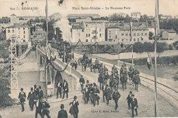 26 // ROMANS   Place Saint Nicolas, Le Nouveau Pont,  502 ** - Romans Sur Isere