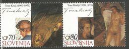 SI 2000-324-5 PAINTINGT, SLOVENIA, 1 X 2v, Used - Slovénie