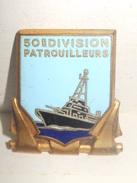50ème Division PATROUILLEURS Arthus BERTRAND Paris - Marine