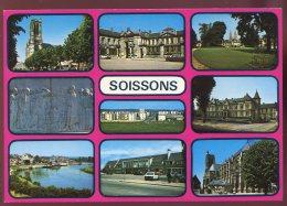 CPM Neuve 02 SOISSONS Multi Vues - Soissons