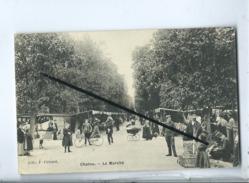 CPA -   Chatou   -    Le Marché - Chatou