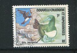 NOUVELLE CALEDONIE- Y&T N°398- Oblitéré (oiseau) Très Belle Variété De Couleur (vert Au Lieu De Marron Clair!!!) - New Caledonia