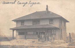 ¤¤  -  ETAT-UNIS   -  Carte-Photo   -  Arsenal Camps Logan En 1914    -  ¤¤ - Etats-Unis