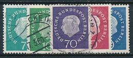 Berlin Nr. 182-186  ~ Michel 20,-- Euro - Used Stamps