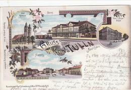 Gruss Aus Tulln, Lithographie - Tulln