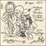 MTS Band AMIGA Record - 45 T - Maxi-Single