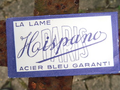 Ancienne Lame De Rasoir HISPANO - Rasierklingen